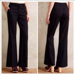 Level 99 high rise black trousers, size 27